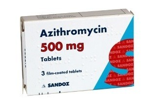 Azithromycin 500mg for 5 days